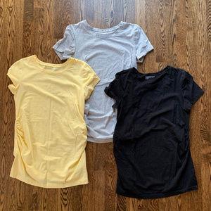 GapMaternity pure body Short Sleeve (bundle of 3)
